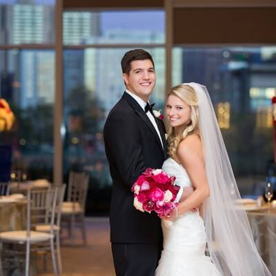 Royal Sonesta Boston wedding with Lotus Floral Events