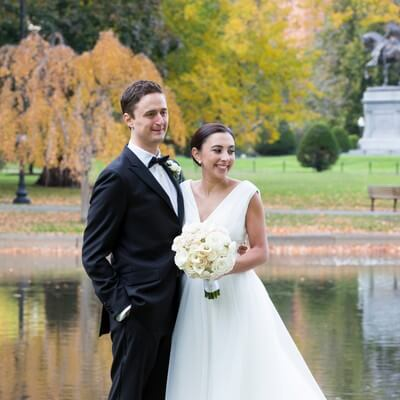 Traditional Four Seasons Boston wedding