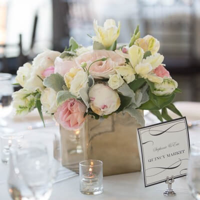 Personalized Table Names for your Boston wedding