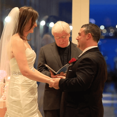 Fall wedding at The Seaport Hotel with Whim Events