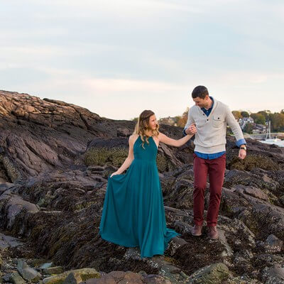 Marblehead Engagement Session