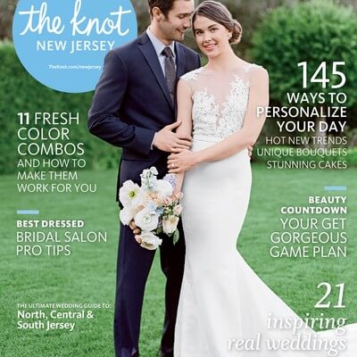 Published: The Knot Magazine New Jersey