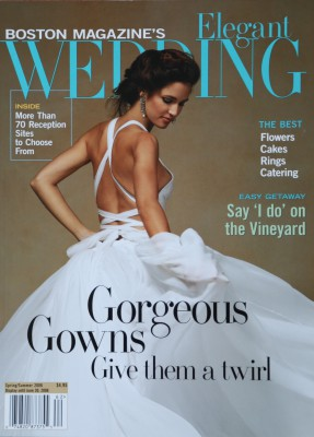 Elegant Wedding Boston Magazine